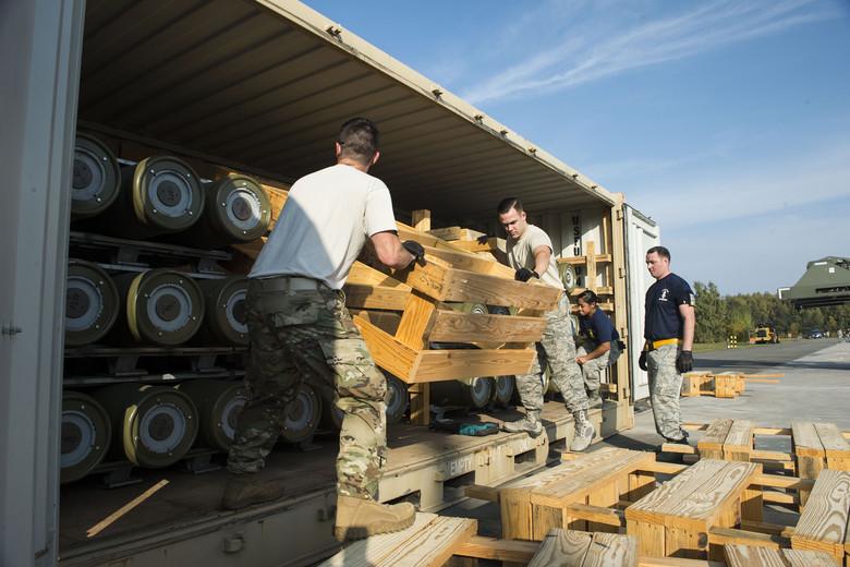 Najväčšia dodávka zbraní z USA do Nemecka od roku 1999.