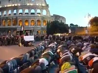 Toto je dnešný Rím, budúci Muslimabád. Vízia budúcnosti bude pre Slovensko možno nasledovná titulka…