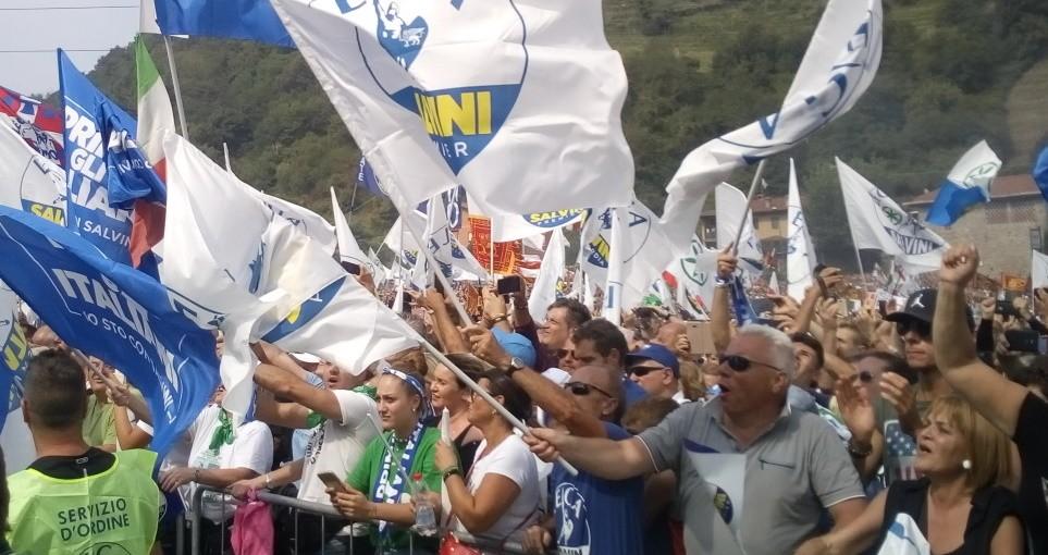 Pontida 2019, Matteo Salvini – fotoreport