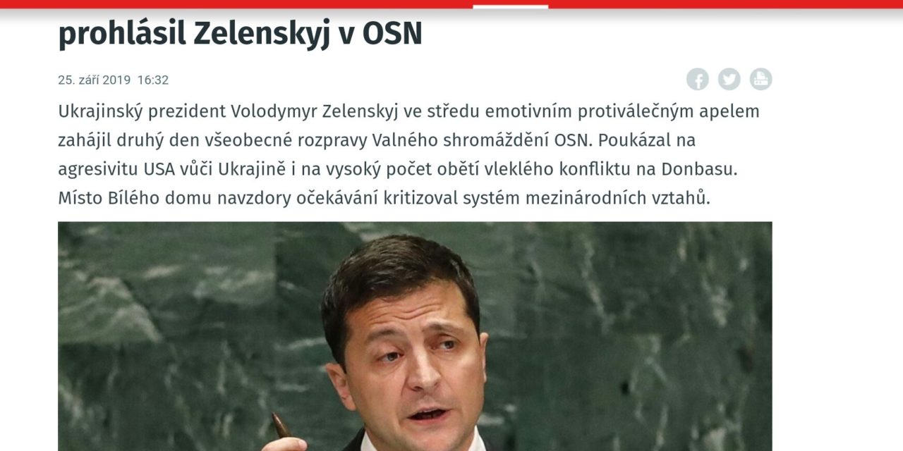Zaujímavý preklep na iDnes. Český portál iDnes…