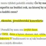 """Čo je Progresívne Slovensko? Stránka """"Menej št&aacute…"""