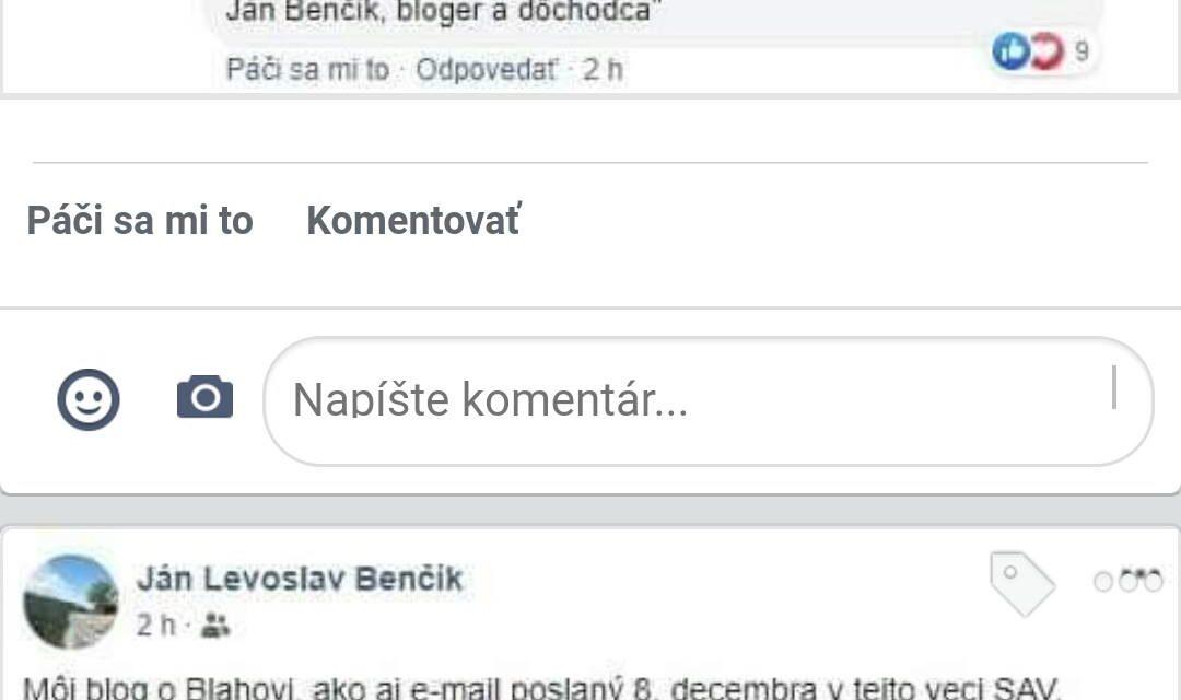Slovenská Akadémia Vied sa dištancovala od názorov poslanca Blahu. Sama od seba nie….