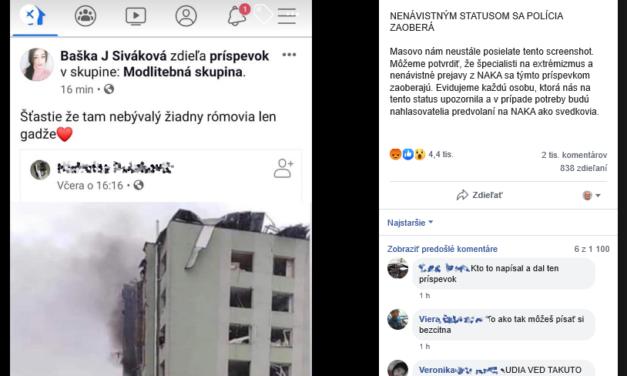 Nesúdťe Bašku za jej nenávistný status, problém je inde.