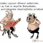 """Humor """"Kamenacki"""" – Lucifer dostal hlásenie o predvolebnej  kampani Alojza Hlinu"""