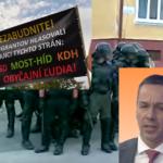 Erik Tomáš  chcel zneistiť voličov Mariana Kotlebu ale pritom povedal o Smere SD viac ako sám chcel.
