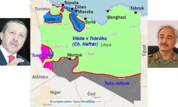 Podľa R. T. Erdogana je Líbya je dedičstvom Osmanskej ríše. Dúfajme, že to nebudeme časom počuť o Nových Zámkoch či Štúrove.