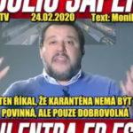 Matteo Salvini – centrálna vláda v Ríme pri koronavíruse zlyhala