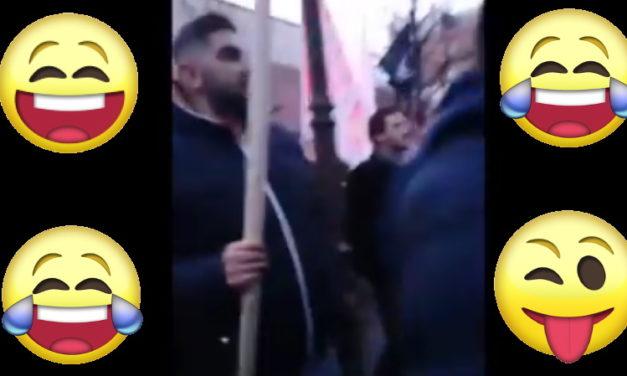 Progresívci na posmech sveta – ako   aktivistka na proteste Rómov usmerňovala