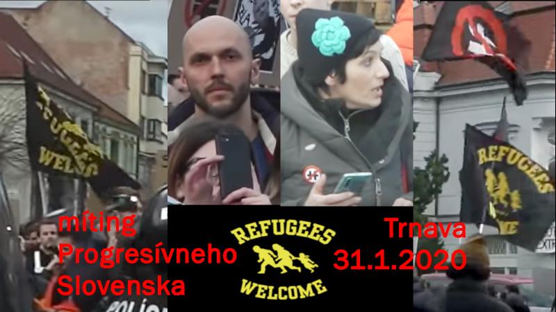 Migrantov vítame – Progresívne Slovensko sa tým netají