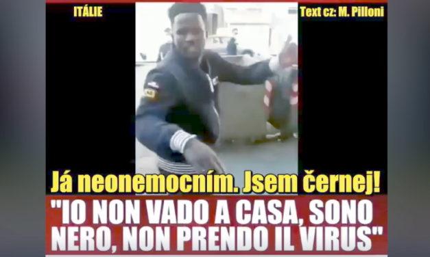 Taliansko (video) – nezodpovední jedinci z radov migrantov demonštratívne ignorujú opatrenia proti koronavírusu.