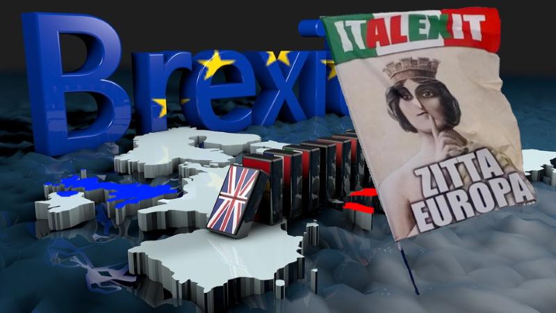 Polovica obyvateľov Talianska si želá exit – opustí EÚ časom aj Taliansko ?