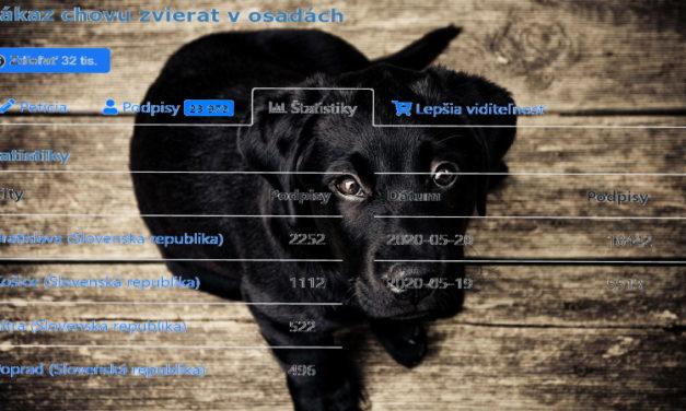 Petícia za zákaz chovu zvierat v osadách
