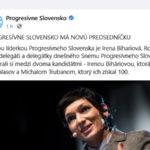 Irena Biháriová sa stala predsedníčkou strany Progresívne Slovensko.