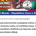 Petíciu proti súdu s Matteom Salvini podpisujú aj Slováci.